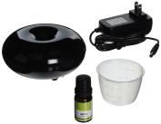 Black MIZU Ultrasonic Aroma Diffuser with 1 Free 10ML Therapeutic Essential Oil