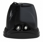 Hunter Home Comfort 33520 Ultrasonic Cool and Warm Mist Humidifier, 1.5g, Black
