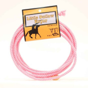 M & F Western 50828 Kid's Little Outlaw Rope Pink One Size