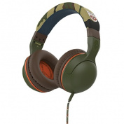 Skullcandy Hesh 2 Over Ear Headphones with Mic Camo/Olive/Olive