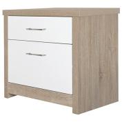 Solano Lisbon Bedside Cabinet 2 Drawer