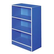 Solano Bookcase Blue 3 Tier