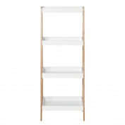 Sort It Bamboo A Frame Shelf 4 Tier