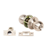 Miles Nelson Stainless Steel Knob Privacy Set