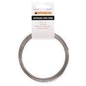 Samson Utility Stainless Steel Wire 0.99mm x 12m