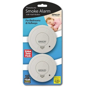Orca Photoelectric Smoke Alarm Value 2 Pack