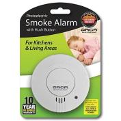 Orca Photoelectric Smoke Alarm with Hush