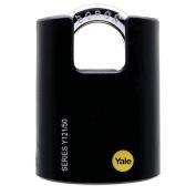 Yale 121 Series Padlock Brass Black 50mm