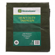 Westminster Tarpaulin Green 140gsm 1.8m x 2.4m