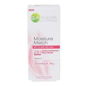 Garnier Moisture Match Day Cream Goodbye Dry Cream 50ml