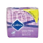 Libra Ultra Thin Pads Goodnight Wing 16s