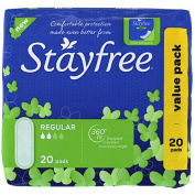 Stayfree Regular Pads 20 Pack