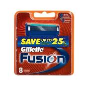 Gillette Fusion Manual Cartridges 8 Pack