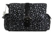 Kalencom Buckle Bag, Bubbles Black