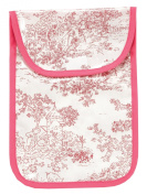 AM PM Kids! Nappy Clutch, Pink Toile