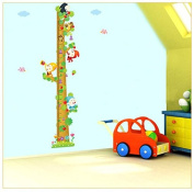 Happy Little Dwarf Growth Chart Height Chart Wall Decor Wall Decal Wall Sticker Wallpaper for Nursery Playground