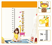 Giraffe Growth Chart Height Chart Removable Wall Decor Wall Decals Wall Stickers for Kids Children Room Decoration