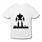 JeFF Baby Toddler's The Iron Giant O-neck Cotton T-shirt For 2-6 Years
