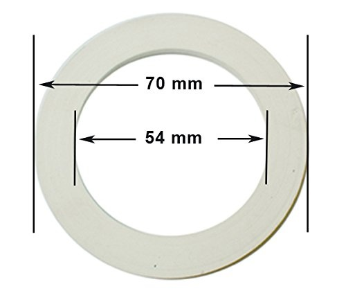 White Cuisinox GAS-T4 4 Cup Replacement Gasket