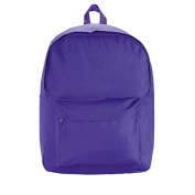 H & H Essentials Backpack Purple One Size