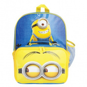 Minions Lunch Backpack Blue One Size