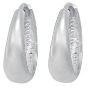 Sterling Silver Huggie Earrings