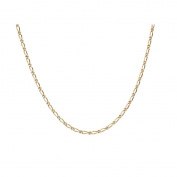 9ct Gold Figaro Chain 55cm