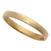 9ct Gold Barrel Wedding Ring 2.5mm