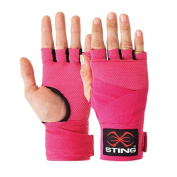 Sting Elasticised Quick Wraps Pink Small