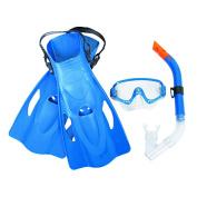 Best Way Meridian Snorkel Set Adults 4 Piece Assorted Colours