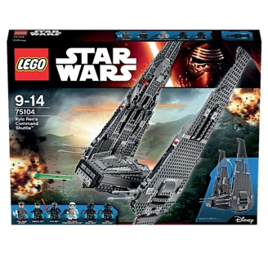 Star Wars LEGO Episode 7 Kylo Ren's Command Shuttle 75104