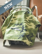 Carseat Canopy (Hunter) Baby Infant Car Seat Cover W/attachment Straps and Minky Fabric