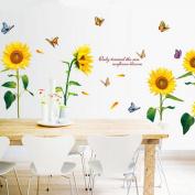 Joylive Removable Sunflower Room Vinyl Decal Art Wall Home Decor Kids Nursery Stickers