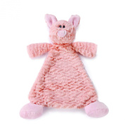 Nat and Jules Rattle Blankie, Pudder Pig