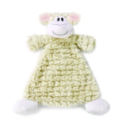 Nat and Jules Rattle Blankie, Langley Lamb