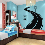 Large Wall Decal Vinyl Sticker Decals Art Decor Design Road Track Car Band Traffic Sign Nursery Kids Gift