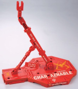 Bandai Hobby Action Base 1 Display Stand (1/100 Scale), Char Aznable Colours