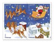 2012 Santa and Sleigh Sheet