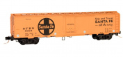 Micro Trains N Scale 16m Express Reefer Car, ATSF - 05200050