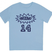 """""""Awesome at 36cm - Kids' Unisex Birthday T Shirt Gift"""