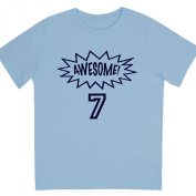 """""""Awesome at 18cm - Kids' Unisex Birthday T Shirt Gift"""