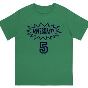 """""""Awesome at 13cm - Kids' Unisex Birthday T Shirt Gift"""