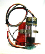 Ultra Safety Systems Pump Switch Sr. UPS-01-12 V Bilge Float Switch W/High Water Alarm Sensor