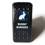 Bandc Blue Bunny Burners Rocker Switch Arb Driving Light Lightforce Gu Gq 80 fits Nissan