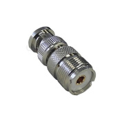 High Value BNC M-Male-Plug to UHF SO239 SO-239 F-Female-Jack RF coaxial coax Adapter