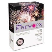 Boise FIREWORX Coloured Paper, 9.1kg, 8-1/2 x 11, Powder Pink, 500 Sheets/Ream
