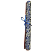 [BLUE Dragon]Calligraphy Practise Recycle Used Writing Pad Satin Scroll