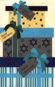 Chanukah Card 16 Holiday Hanukkah Cards 4 Each of 4 Designs With Envelopes 10cm X 15cm