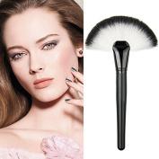 Tenflyer Professional Single Makeup Brush Blush / Powder Sector Makeup Brush Soft Fan Brush Foundation Brushes Make Up Tool