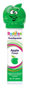 BUDDIES APPLE FRESH TOOTHPASTE 100ml pump dispenser 927672 MAKE BRUSHING FUN FOR YOUR KIDS WITH THIS GREAT TASTING PASTE!